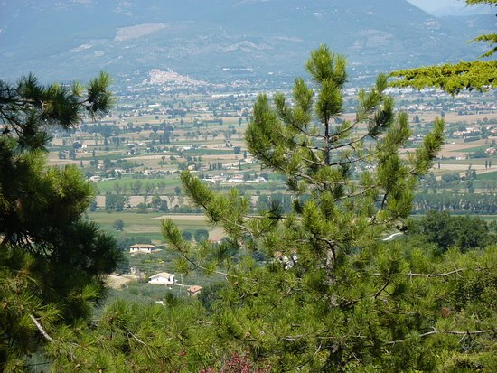 Montefalco, إيطاليا: Panorama dal belvedere