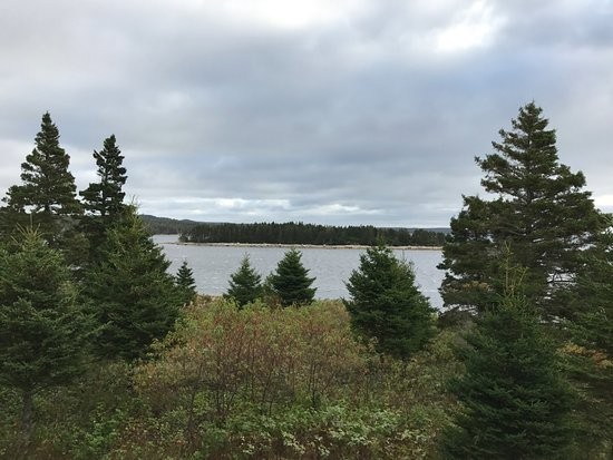 Guysborough, Canadá: View from deck