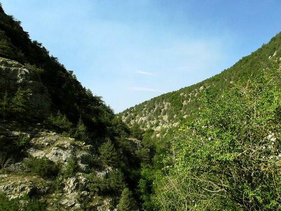Usundzha Canyon