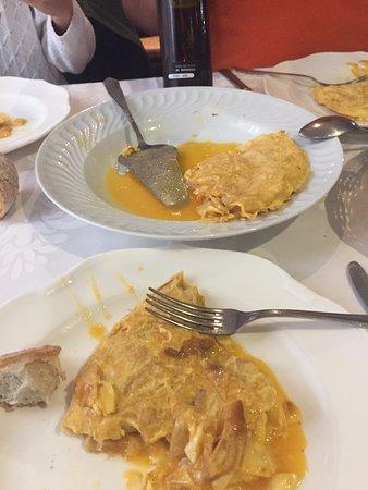 Tortilla Betanceira.