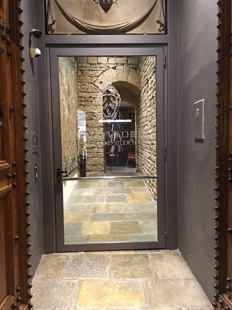 Entrance to stunning apartments