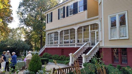 Union, Nueva Jersey: The porch where we had tea