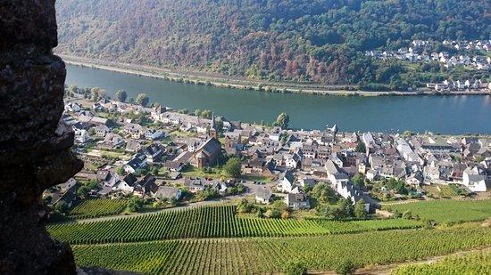 Alken, Germania: Uitzicht op de moesel