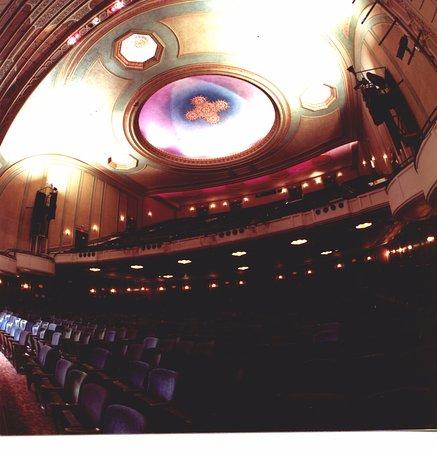 Rochester, Nowy Jork: Auditorium Theatre ceiling