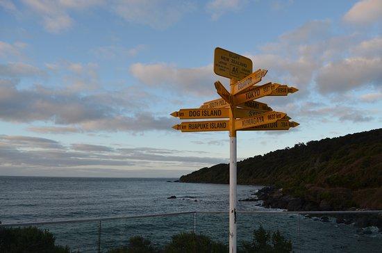 Bluff, Yeni Zelanda: Signpost