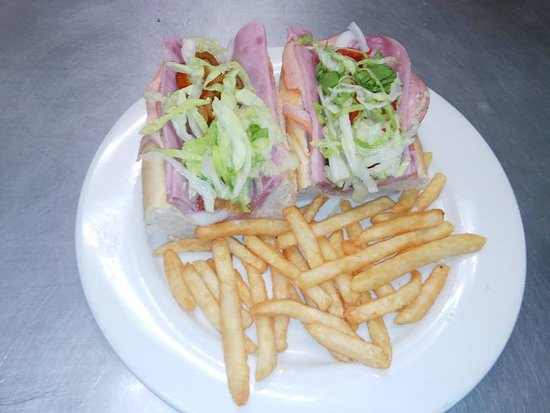 Onley, VA: Cold Cut Lunch Special comes with fries and a can beverage for $6.99