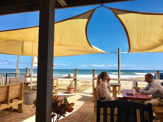 Flagler Beach, Floryda: Just had a great lunch at Kathy's wonderful little breakfast and lunch cafe. I love the Spicy Bl