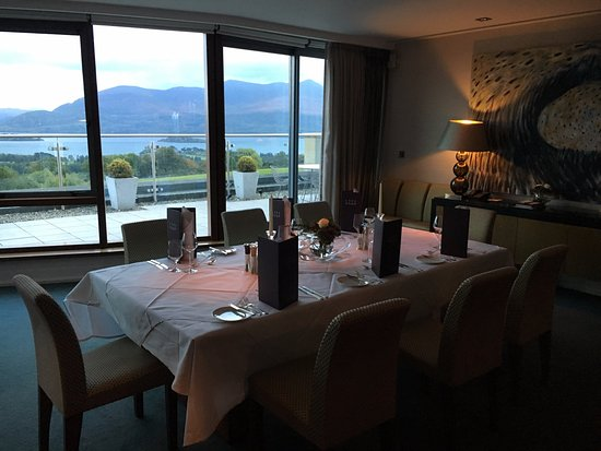 Aghadoe Heights Hotel & Spa: Penthouse suite dining