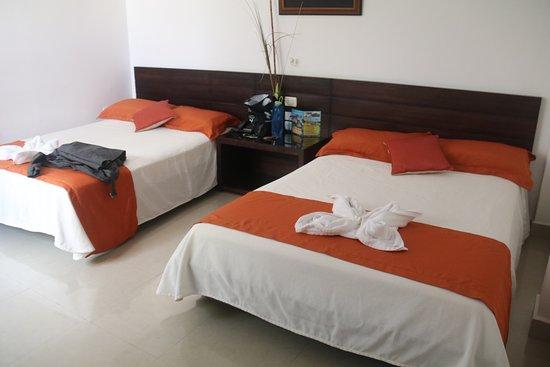 Hotel Ninfa: Room on ground level closest restaurant
