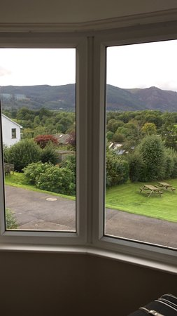 Portinscale, UK: View from the front room of the house