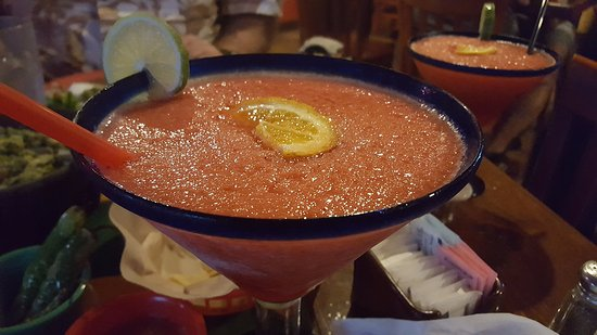 Cathedral City, CA: Double Strawberry Margarita
