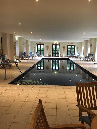 Ballyfin Demesne: relaxing pool