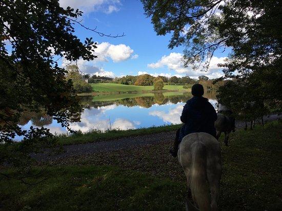 Ballyfin Demesne: Horseback riding