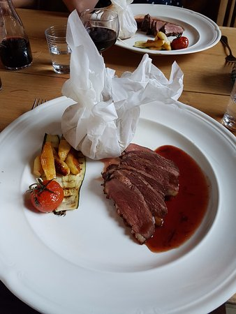 Treignac, Frankrike: Duck for tea