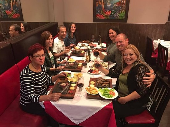 Solar da Ajuda: My mum's 60th birthday dinner with my mum, brother, cousin and closed friends <3