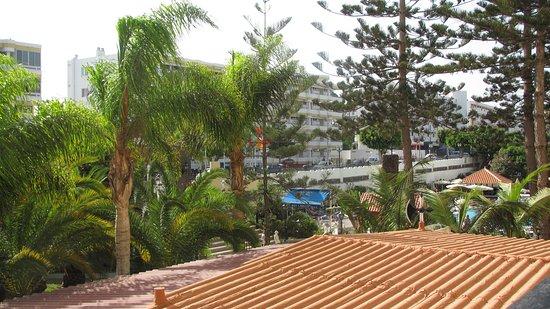 Rey Carlos: vue du balcon