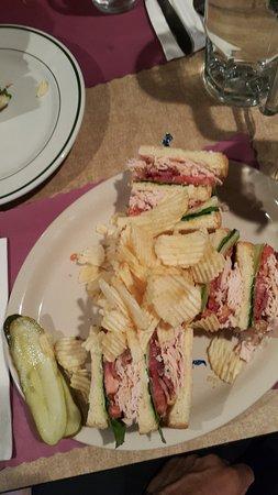 Himrod, Νέα Υόρκη: turkey sandwich