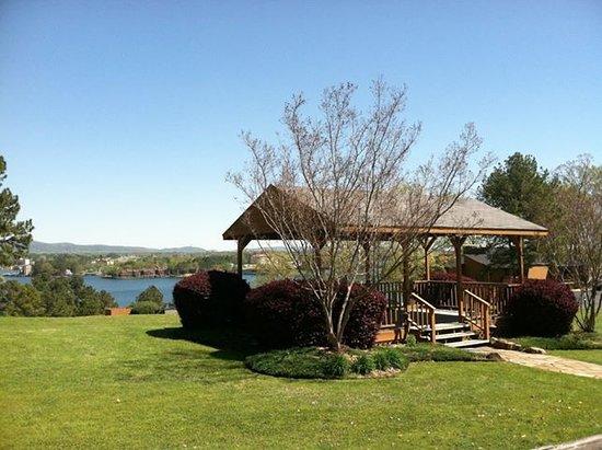 Lake Hamilton, AR: Gazebo