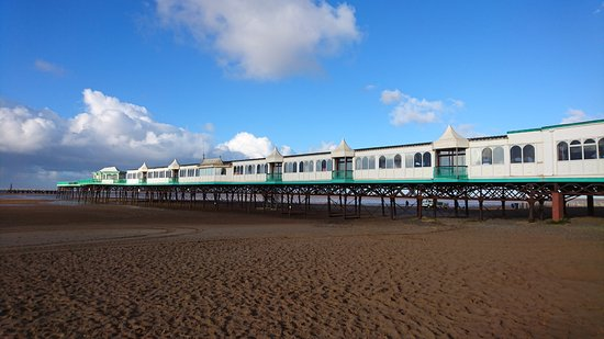 Lytham St Anne's, UK: The pier at St Annes