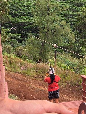 Koloa, Hawaje: Kimi capturing the moment