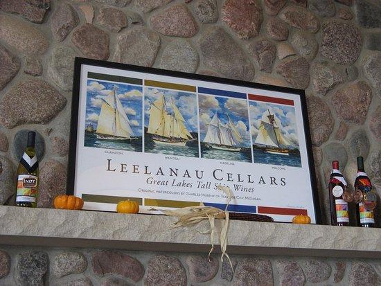 Leelanau Wine Cellars: inside