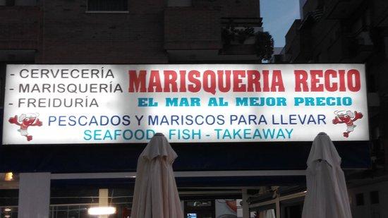 Morón de la Frontera, España: Portada del restaurante
