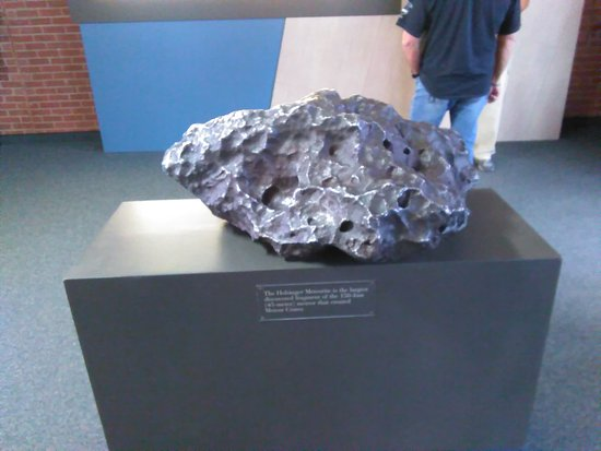 Winslow, AZ: Piece of Meteor That Made The Crater