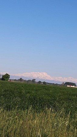 Province of Pavia, Italia: monte rosa