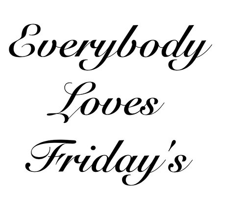 Ringwood, UK: Everybody loves Friday's
