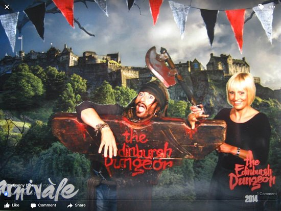 The Edinburgh Dungeon: Don't loose your head !!