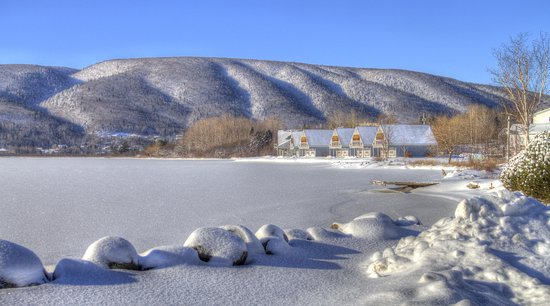Whycocomagh, Canada: Winter Colors by Murdo Ferguson