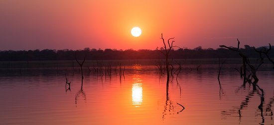 Kariba, Zimbabue: sunset cruise