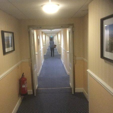 Limavady, UK: Corridor to room