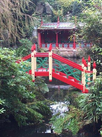 Biddulph, UK: China garden