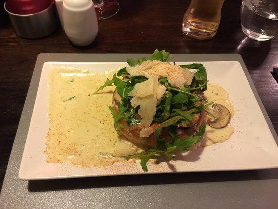 Callander, UK: Funghi Trifolati......Yum Yum
