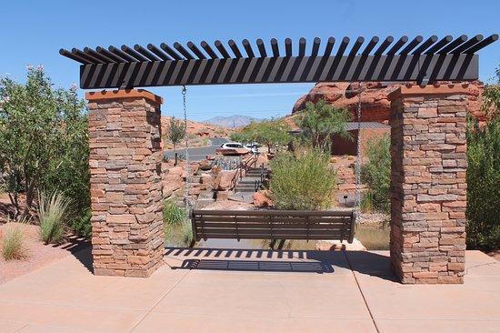 سانت جورج, Utah: relaxing with a view