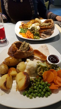 Clay Cross, UK: The roasts not bad but a dish of contrasts