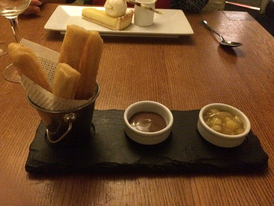 Solva, UK: Good quality food and hearty portions. No competition for the Cambrian in this area. A visit is