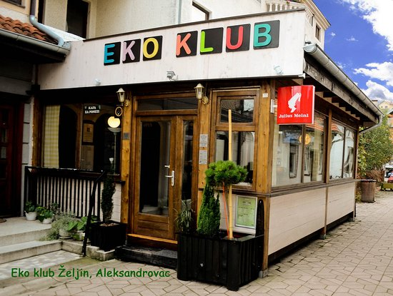 Eco Club Zeljin: Cafe bar Eko KLUB Željin