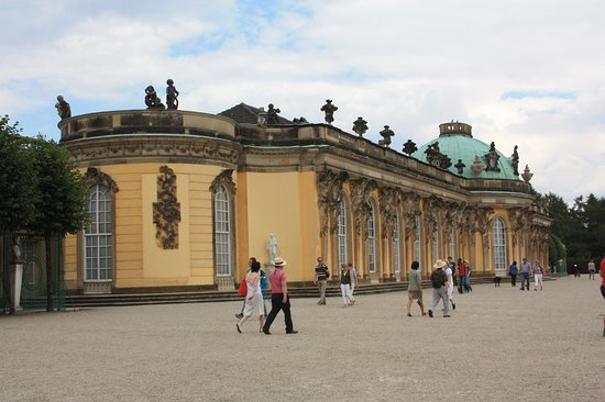 Sanssouci Palace: Niet bijzonder groot maar prachtig!