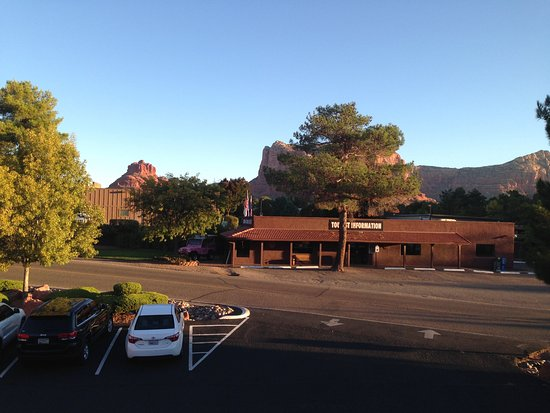 "The Views Inn Sedona: The ""view"" from our room"