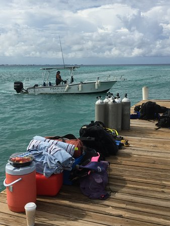 George Town, Grand Cayman: Ready to go!
