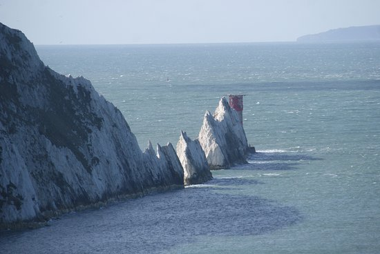 Totland, UK: The Needles from the Cliff tops