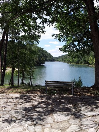 Maynardville, TN: View of the Park lake.