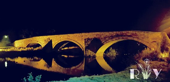Haddington, UK: Nungate Bridge at Night :D