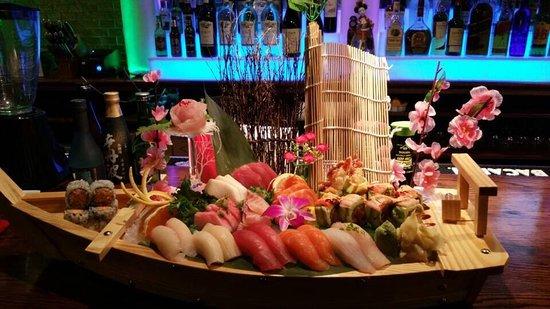 Johnston, RI: great sushi