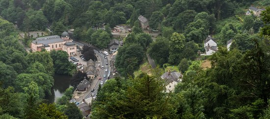 Matlock Bath, UK: Lovely views from the cable car