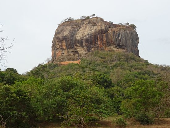 Citadel of Sigiriya - Lion Rock: La rocca