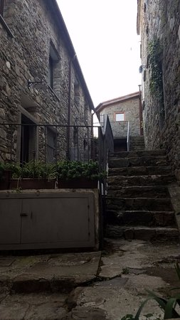 The walk up to our unit - Picture of Bed and Breakfast Le Terrazze ...