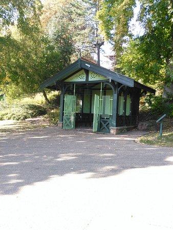 Престон, UK: Petit cabane dans le parc